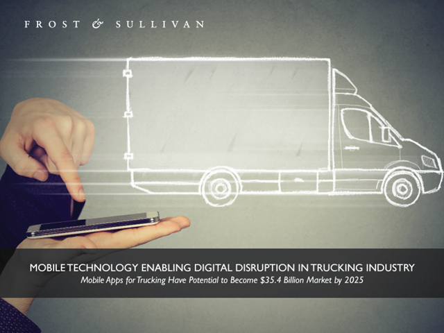 Mobile Technology Enabling Digital Disruption in Trucking Industry