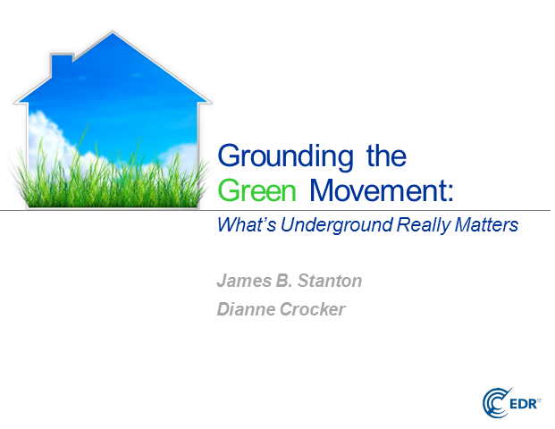 Grounding the Green Movement: What's Underground Really Matters