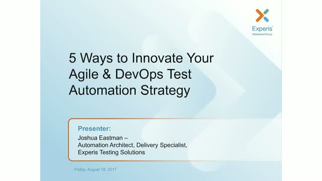 5 Ways to Improve Your Agile/DevOps Automation Strategy