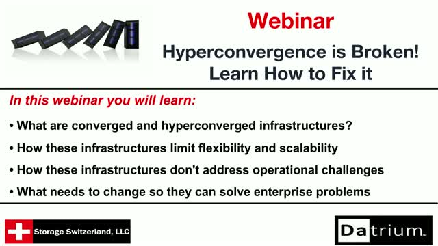 Hyperconvergence is Broken, Learn How to Fix it!