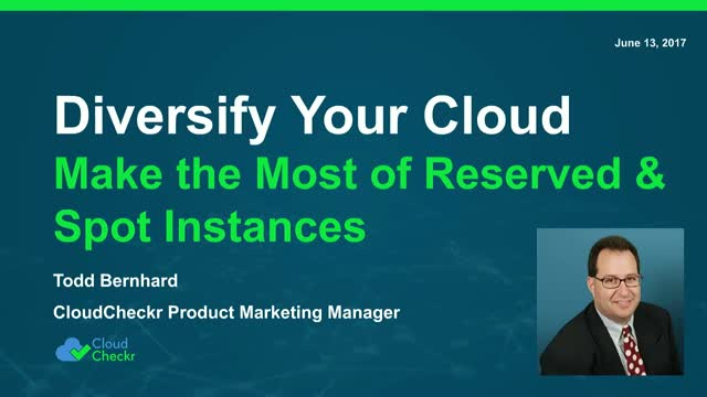 Diversify Your Cloud Portfolio: Making the Most of Reserved and Spot Instances