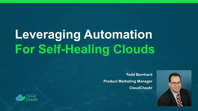 Leveraging Automation for Self-Healing Clouds