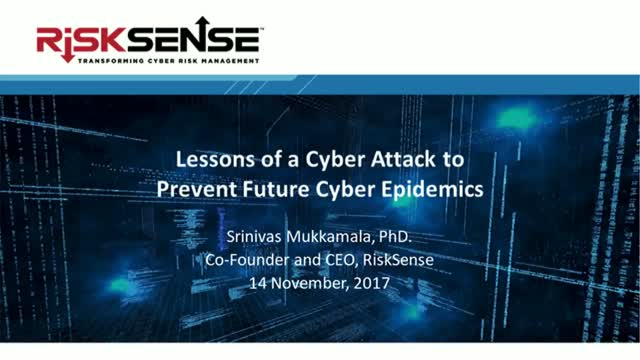 Lessons of a Cyber Attack to Prevent Future Cyber Epidemics
