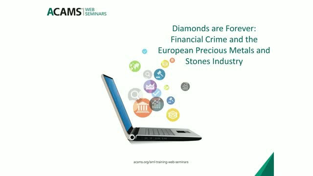Financial Crime and the European Precious Metals and Stones Industry