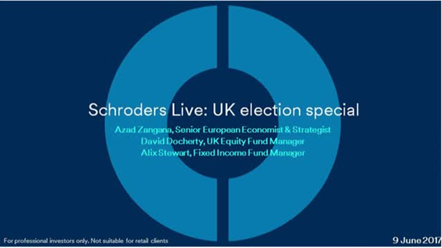 Schroders Live: UK election special