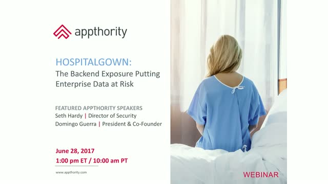 HospitalGown: The Backend Exposure Putting Enterprise Data at Risk