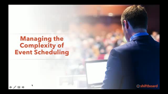 Managing the Complexity of Event Staff Scheduling