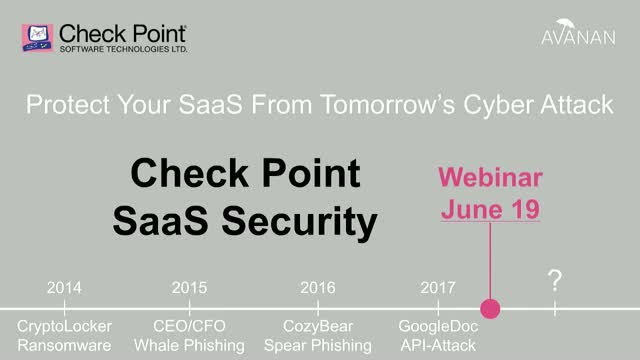 Check Point Security for Any SaaS
