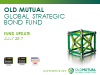 Old Mutual Global Strategic Bond Fund Update - Q2 2017