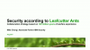 Security According to Leafcutter Ants