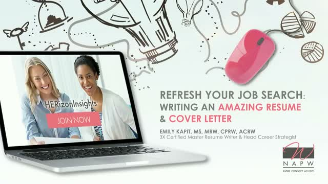 Refresh Your Job Search: Writing an Amazing Resume and Cover Letter