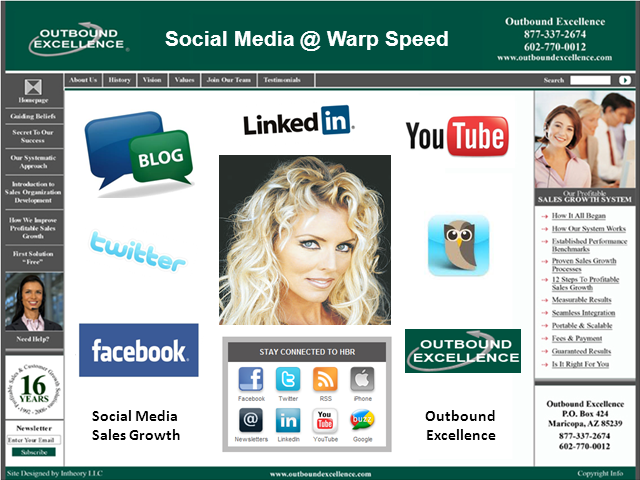 Social Media Sales Growth At Warp Speed