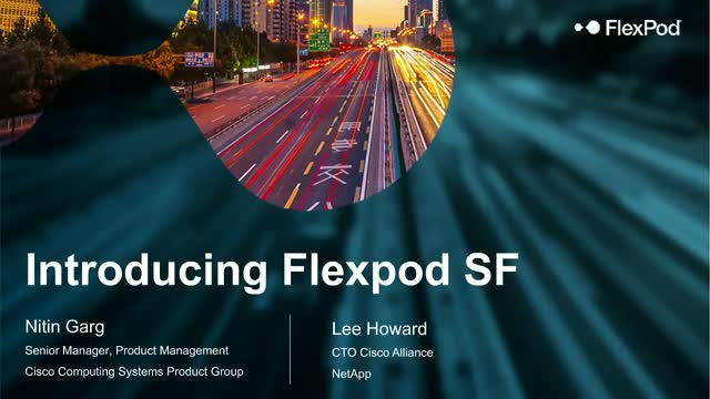 Introducing the Future of CI: A New FlexPod Solution from NetApp & Cisco
