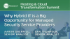 Why Hybrid IT is a Big Opportunity for Managed Security Service Providers