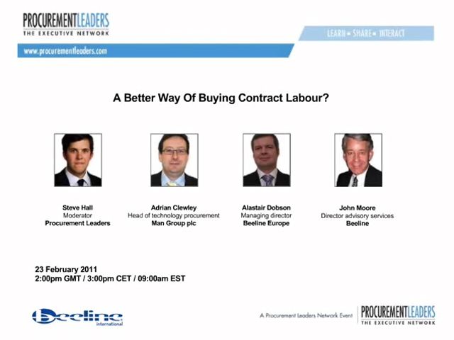 A Better Way Of Buying Contract Labour?