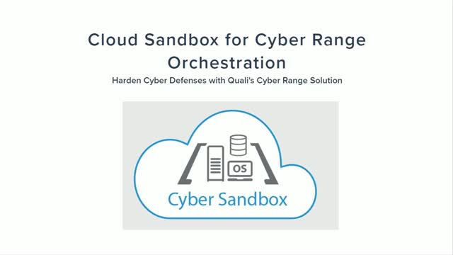 [Demo] Cyber Range Orchestration with Cloud Sandboxes