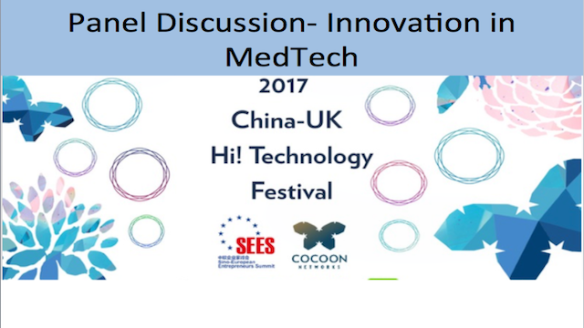 Panel Discussion: Innovation in Medtech