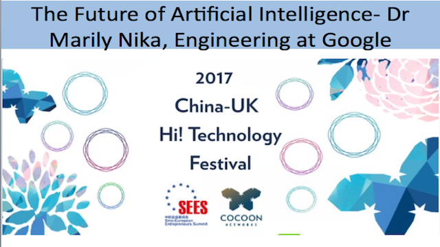The Future of Artificial Intelligence - Dr Marily Nika