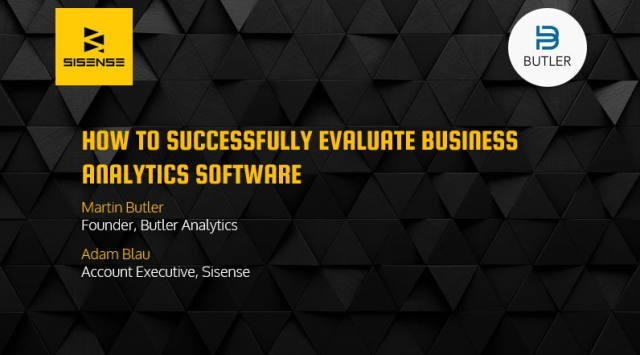 How to Successfully Evaluate Business Analytics Software