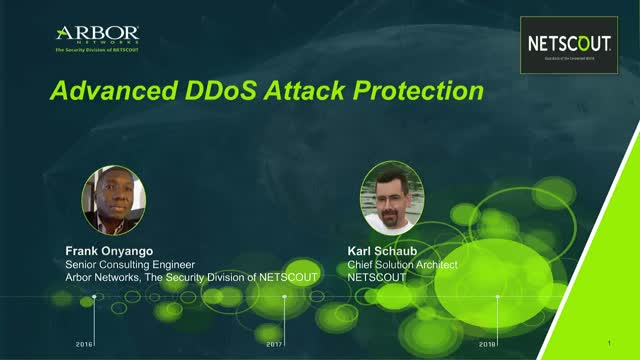 Advanced DDoS Attack Protection