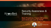 Best Practices and Future Direction of Security Awareness Training