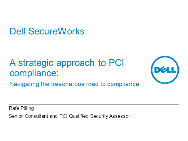 A strategic approach to PCI: navigating the road to compliance