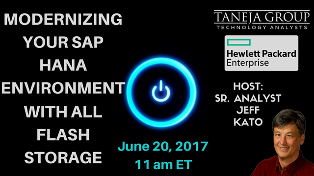 Modernizing your SAP HANA Environment with All Flash Storage