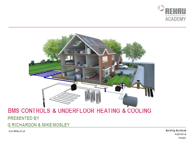 BMS & Underfloor Heating & Cooling Controls
