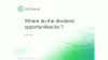 Where do the dividend opportunities lie?
