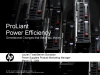 HP ProLiant G6 Server Energy Efficiency