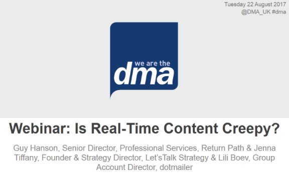 Is Real-Time Content Creepy?