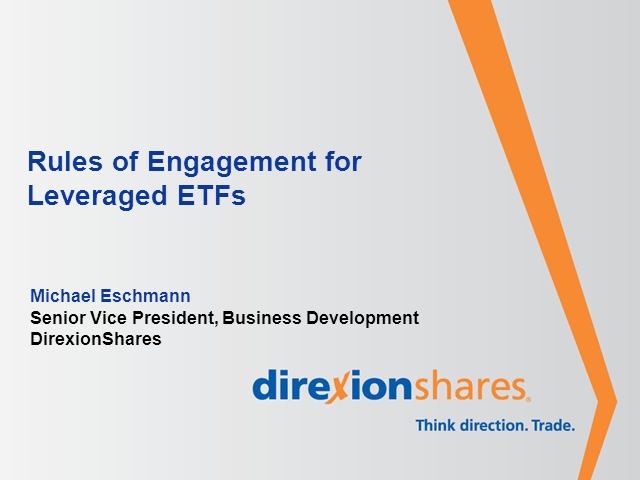Rules of Engagement for Leveraged ETFs