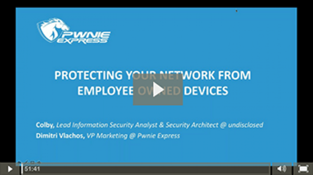 Protect Your Network From Employee Owned Devices