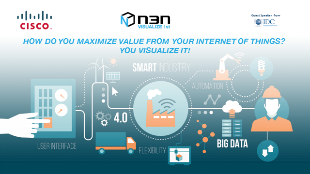 How do you Maximize Value from Your Internet of Things - You Visualize It!