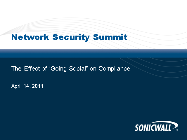 "The Effect of ""Going Social"" on Compliance"