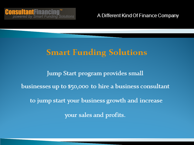 New Small Business Finance Program For Sales Growth Strategies
