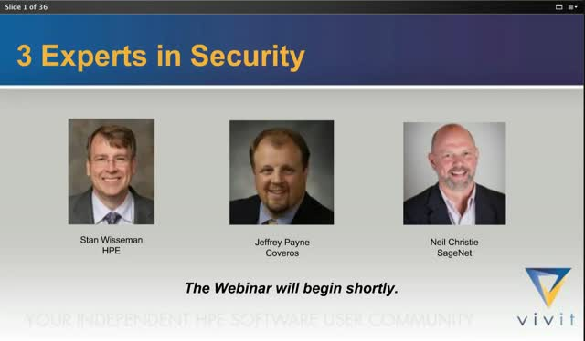 3 Experts In Security; What, Why and How for 2018