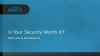NSS TCO - Is your Security Worth it?