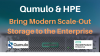 Qumulo & HPE Bring Modern Scale-Out Storage to the Enterprise