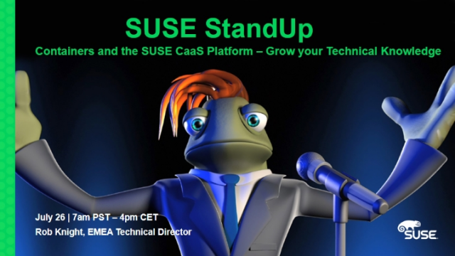 Containers and the SUSE CaaS Platform – Grow your Technical Knowledge