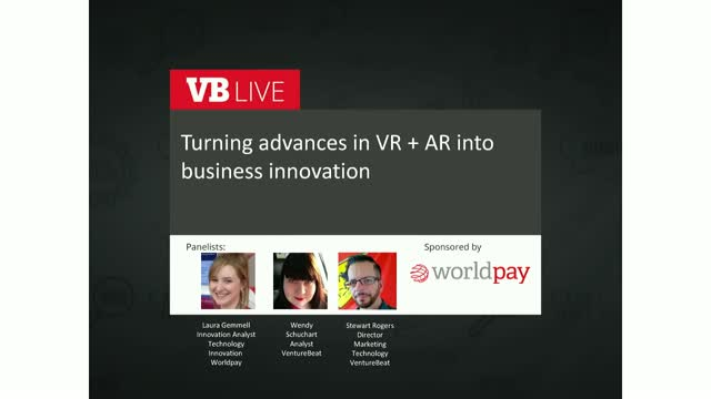 Turning advances in VR + AR into business innovation