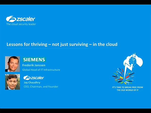 Lessons for thriving - not just surviving - in the cloud