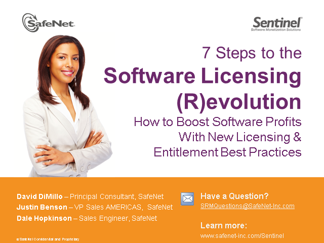 7 Steps to the Software Licensing (R)evolution