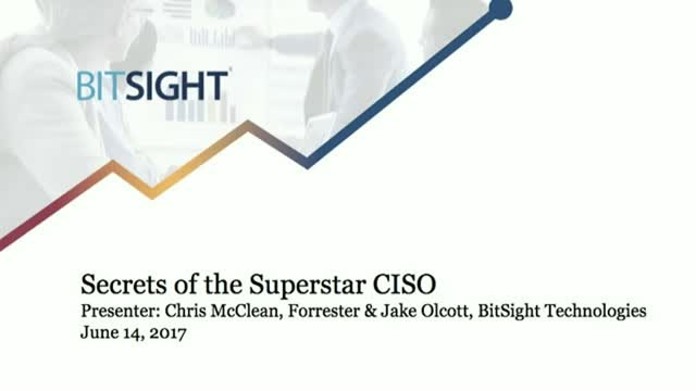 Secrets of the Superstar CISO