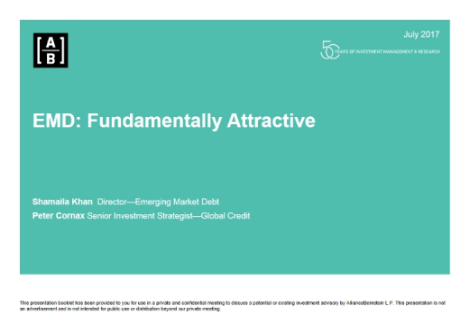 EMD: Fundamentally Attractive