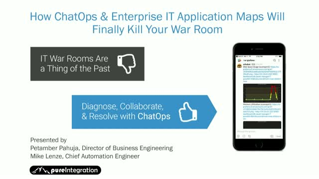 How ChatOps & Enterprise IT Application Maps Will Finally Kill Your War Room