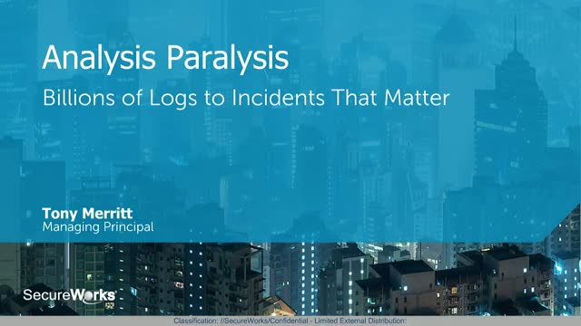 Analysis Paralysis: Billions of Logs to Incidents That Matter