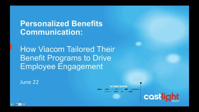 Personalized Benefits Communication: How Viacom Tailored Their Benefit Programs