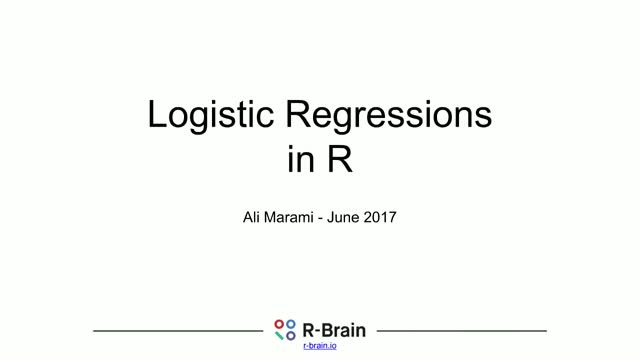Binomial and Multinomial Logistic Regressions in R