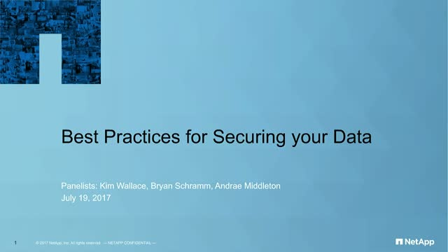 Best Practices for Securing Your Data